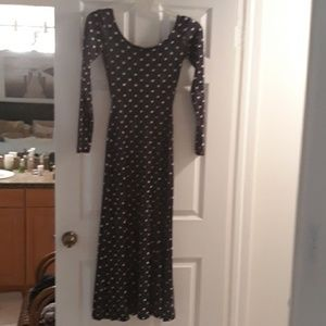 Vintage Betsey Johnson full length dress